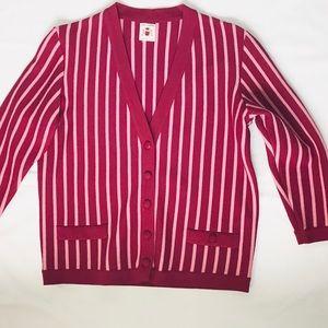 Italian Wool Cardigan - Vintage - Small